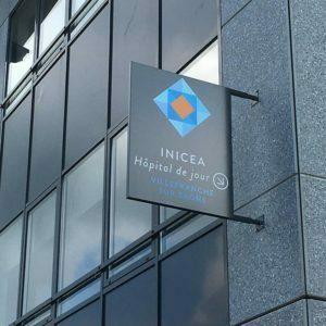 INICEA // Nouvelle réalisation Ariane Signalétique